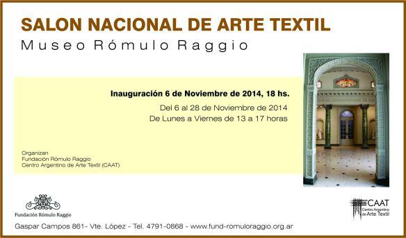 invitación Raggio 2014