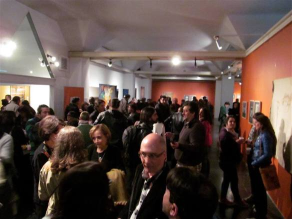 Exhibit opening at Subte Montevideo, Uruguay