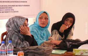 Female enrollment in schools in Bamiyan has surged in the last decade, and Bamyan now has a female governor. Photo: Irene Carlos.