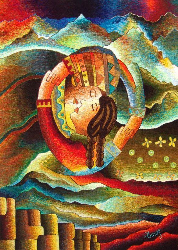 """ Cuzco Mágico "" 120 x 160 cm..jpg"